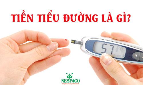 tiền tiểu đường là gì