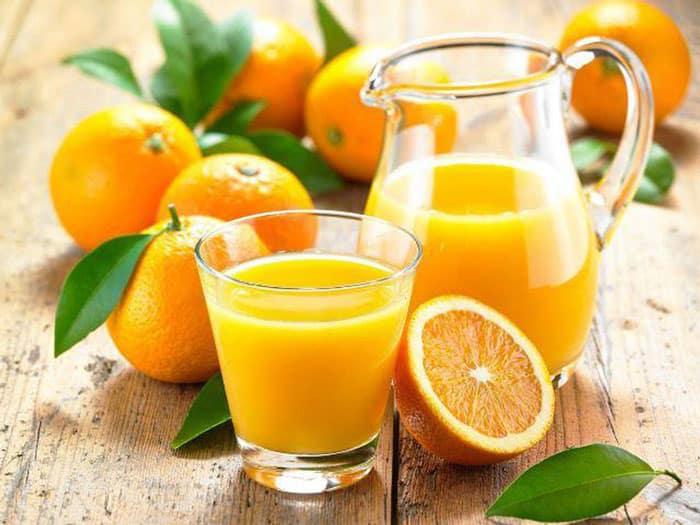 tiểu đường uống nước cam