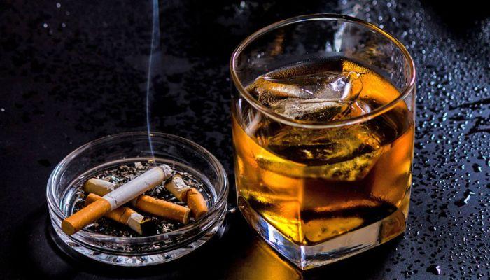 Tránh xa thuốc lá và sử dụng đồ uống có cồn