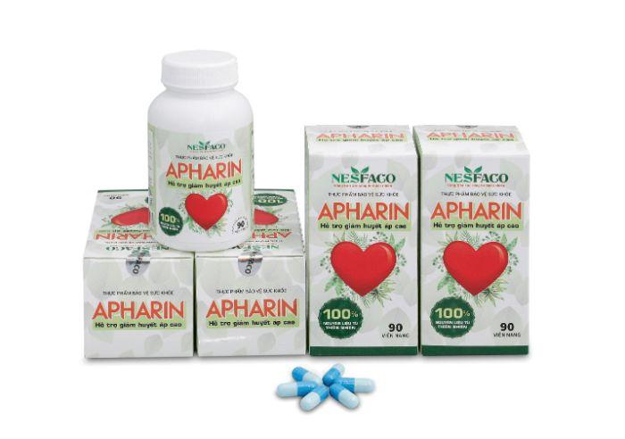 Apharin là sản phẩm hỗ trợ điều trị tăng huyết áp tâm thu đơn độc