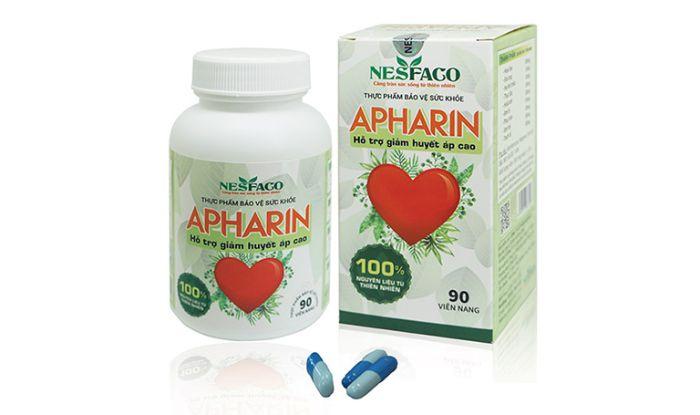 Sử dụng viên uống Apharin