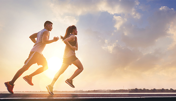 Thường xuyên rèn luyện thể dục, thể thao giúp điều hòa chỉ số huyết áp
