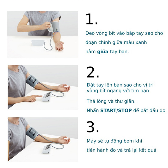 Hướng dẫn cách đo huyết áp bằng máy điện tử ngay tại nhà