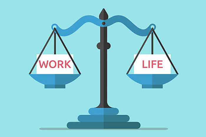 Cân bằng tốt giữa công việc và cuộc sống giúp bạn giải tỏa áp lực cho chính mình