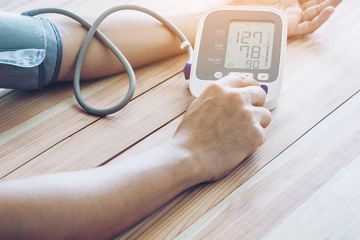 Đơn vị đo huyết áp là mm Hg - Đọc là mi-li-mét thủy ngân