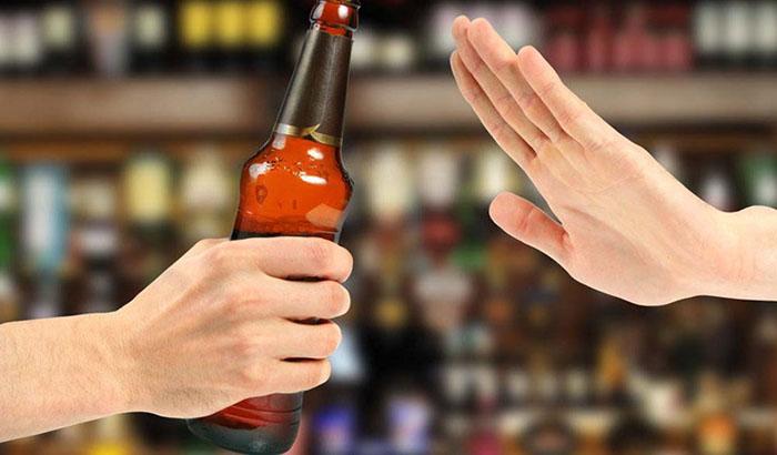 Nói không với rượu bia là cách bạn bảo vệ sức khỏe của mình
