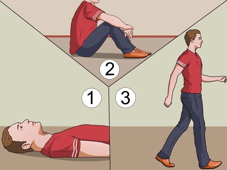 Bạn cần chú ý thay đổi tư thế chậm rãi trước khi đứng dậy, nhằm tránh tình trạng choáng váng