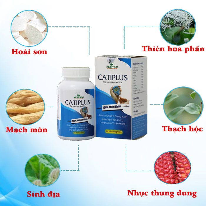 Catiplus là lựa chọn tốt cho bạn khi phòng tránh tiểu đường gây hoại tử
