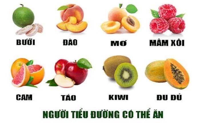 Các loại trái cây người tiểu đường có thể ăn