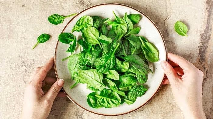Cải bó xôi giúp ổn định đường huyết sau mỗi lần ăn