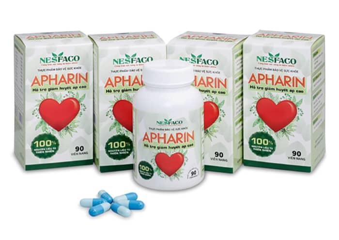APHARIN - Sản phẩm phòng tránh bệnh đau đầu do cao huyết áp