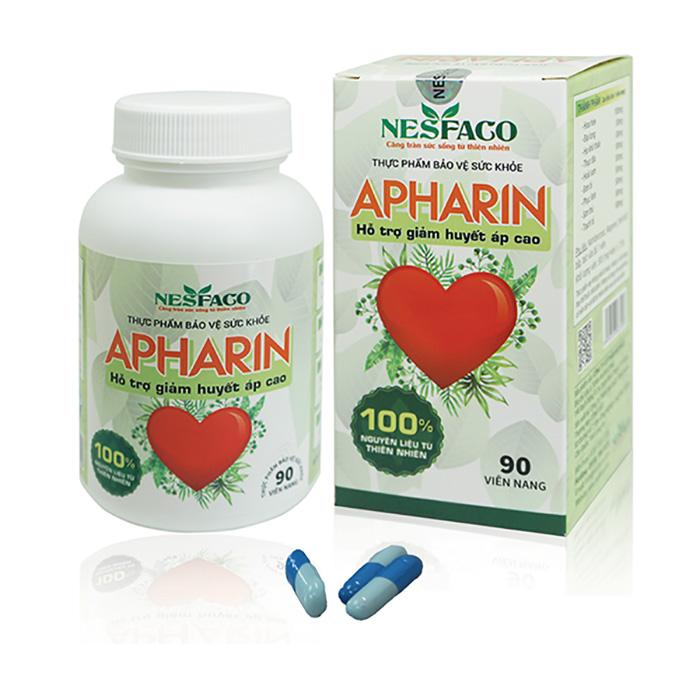 APHARIN - Sản phẩm hỗ trợ tắc nghẽn mạch máu dành cho bệnh nhân cao huyết áp