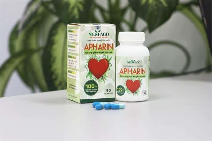 Hoa hoe là một trong những dược liệu có trong sản phẩm ổn định huyết áp APHARIN
