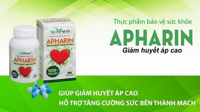 APHARIN là sản phẩm hỗ trợ cân bằng ổn định huyết áp được bác sĩ khuyên dùng