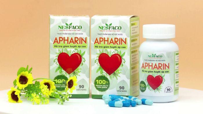 Sản phẩm APHARIN có chứa 50mg thảo dược hoài sơn