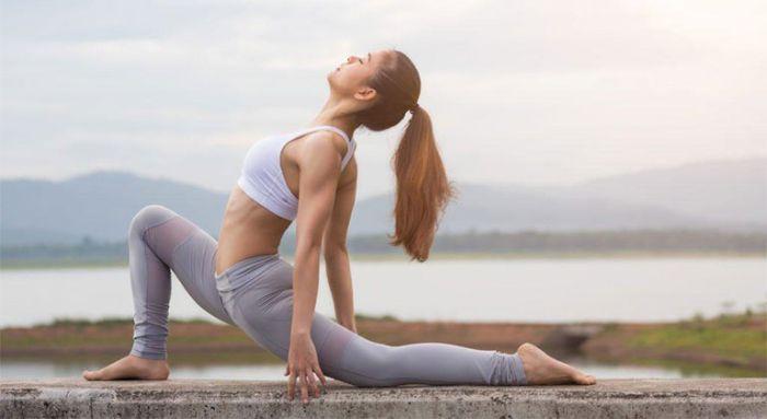 Yoga là bộ môn giúp duy trì ổn định chỉ số huyết áp trên cơ thể