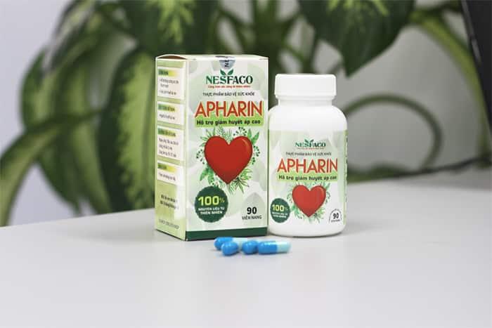 APHARIN - Sản phẩm hỗ trợ điều trị tốt cho người cao huyết áp