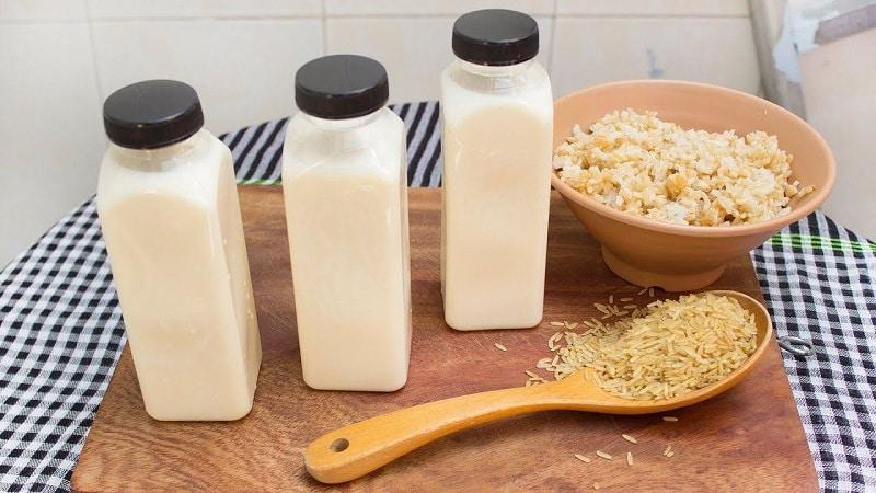 Sữa gạo rất tốt cho người bị mỡ máu