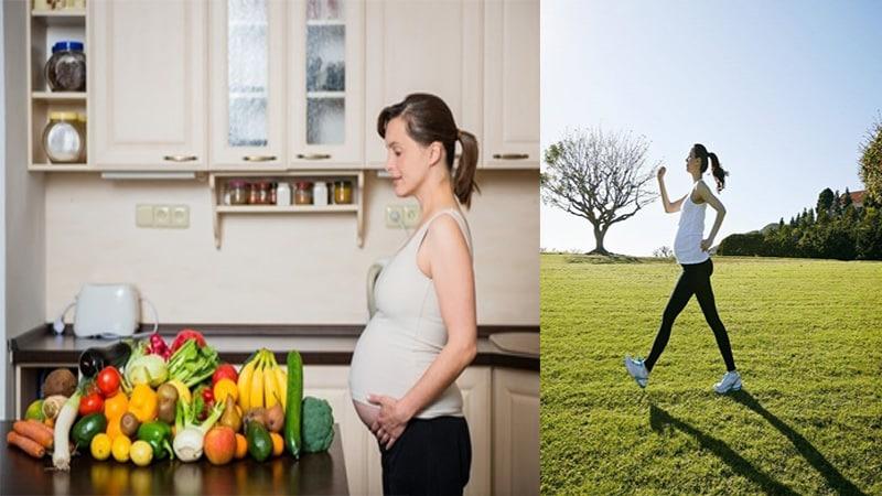 Một chế độ ăn uống, luyện tập hơn lý khi mang thai giúp bà bầu phòng chống mỡ máu hiệu quả