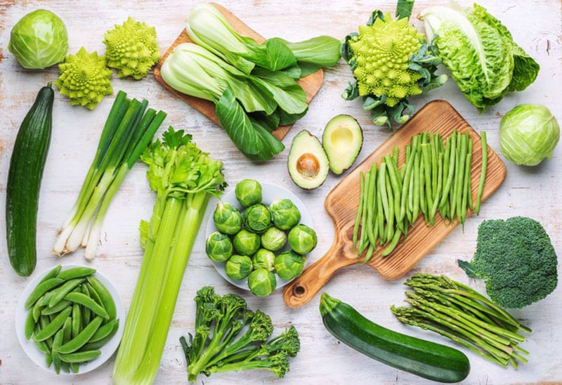 Ăn nhiều rau xanh giảm mỡ máu