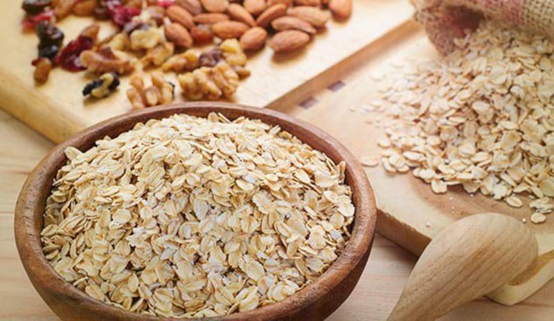 Ăn bổ sung các loại ngũ cốc, yến mạch để giảm mỡ máu